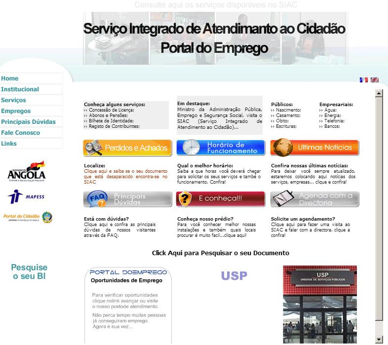 SIAC-Serviço Integrado de Atendimento ao Cidadão