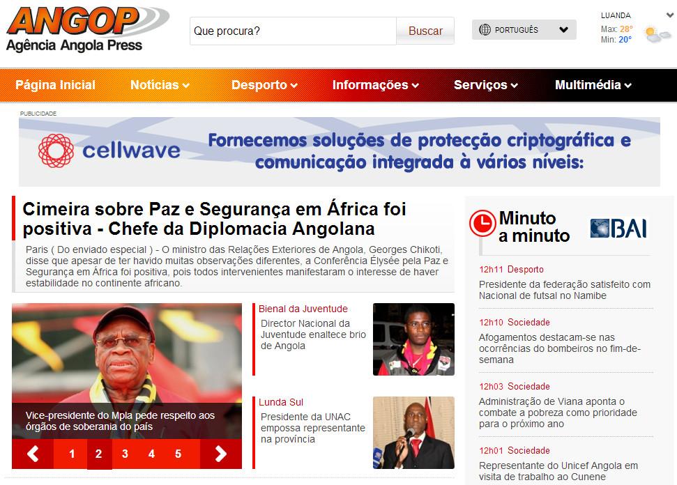Agencia Angola Press