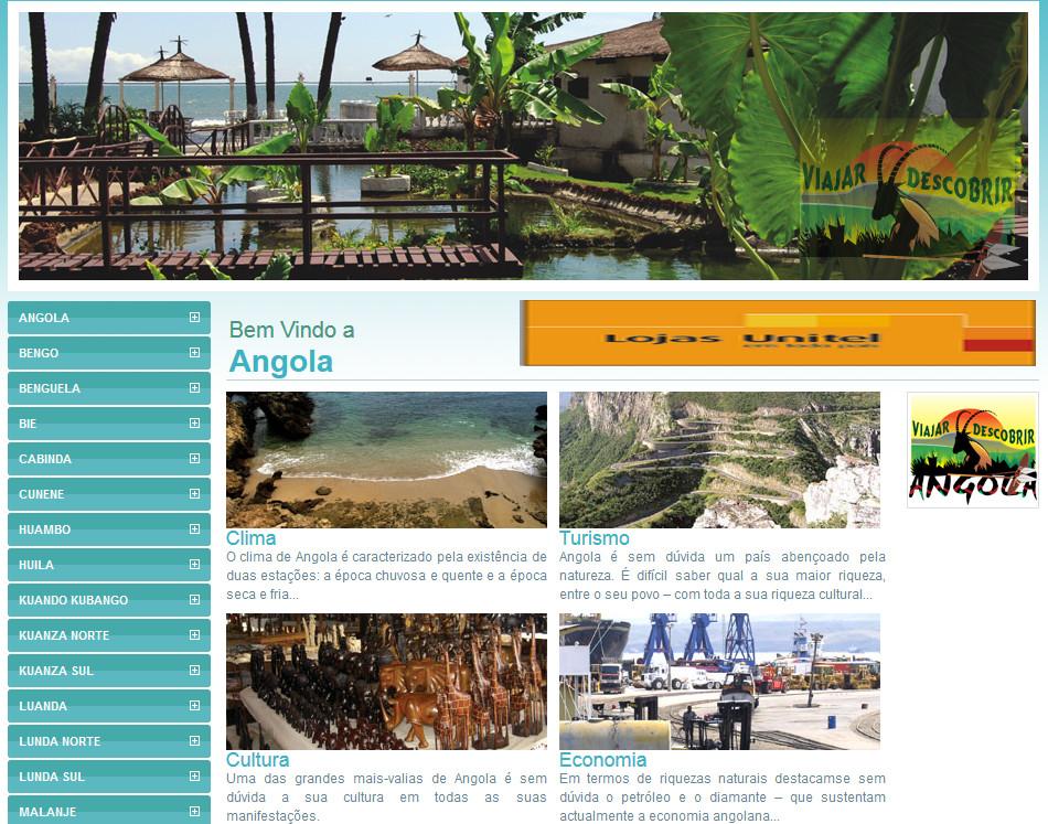 Guia Turistico de Angola