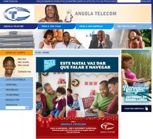 site da angola telecom