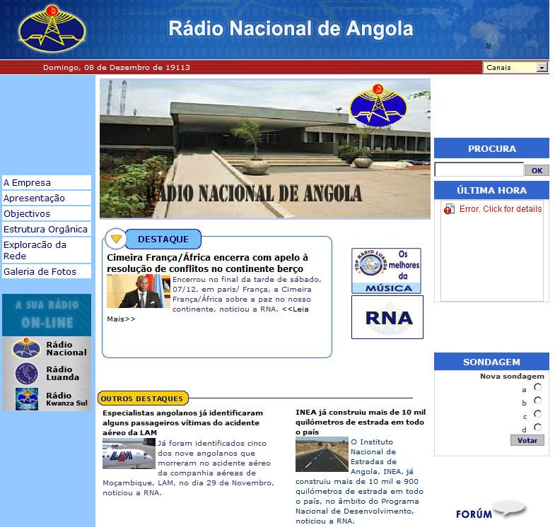 RNA-Rádio Nacional de Angola