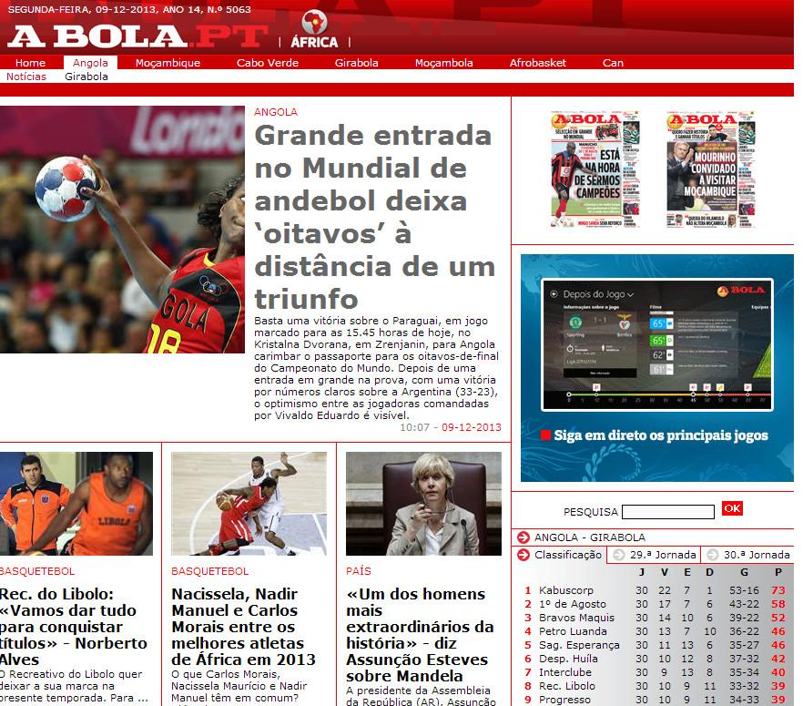 A Bola Angola