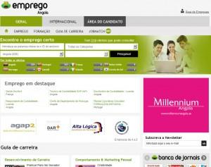 Emprego Sapo Angola
