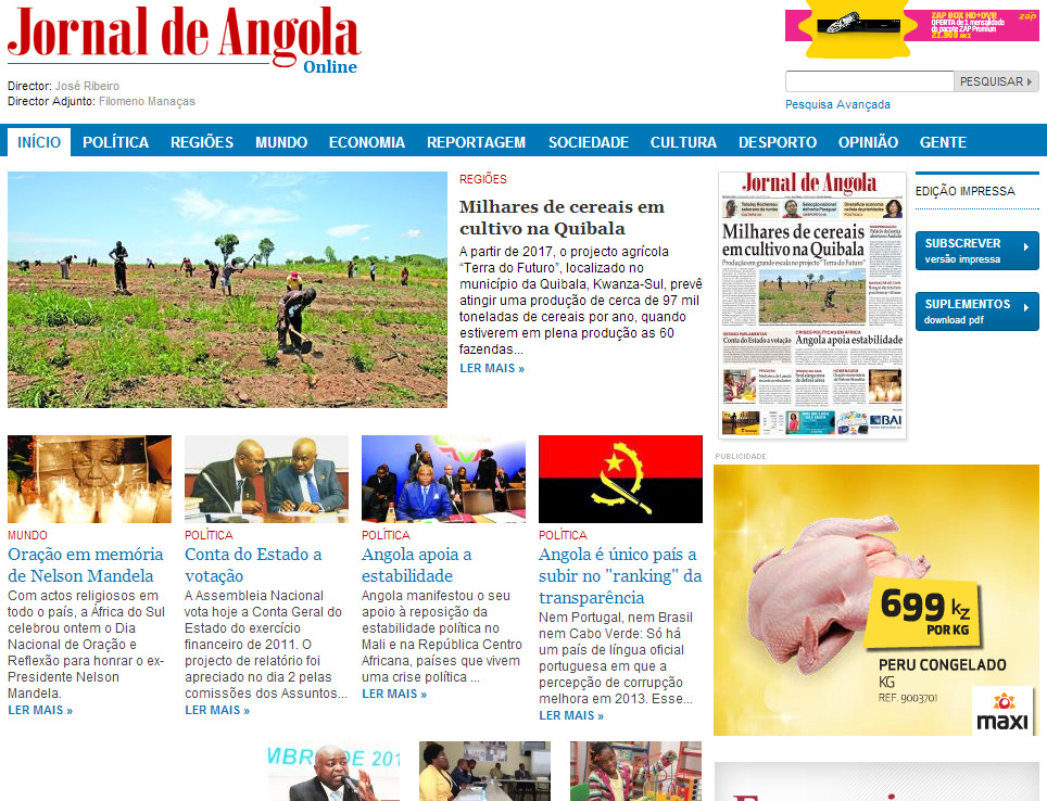 jornal de angola online