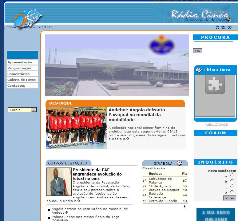 Rádio 5 – Rádio Nacional de Angola