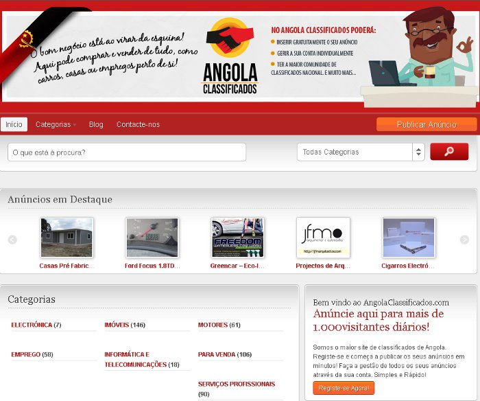 Angola Classificados