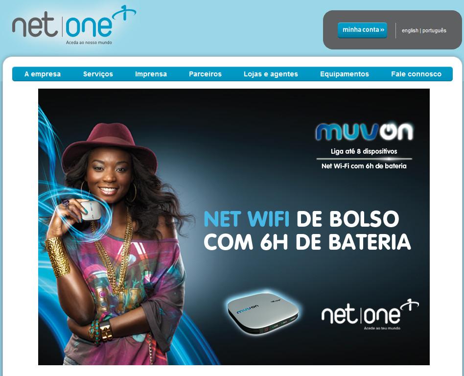 NetOne – serviços de internet para Angola